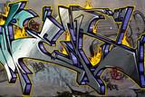 Lettrage graffiti