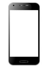 Smartphone Tendance Noir Avec ...