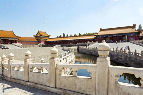 Foto op Plexiglas Xian Beijing, Forbidden City