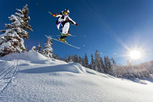 Salto In Neve Fresca
