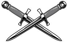 Crossed Dagger