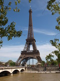 Fototapeta Paryż - Wieża Eiffla