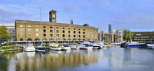 St Katharine Dock In London, U...