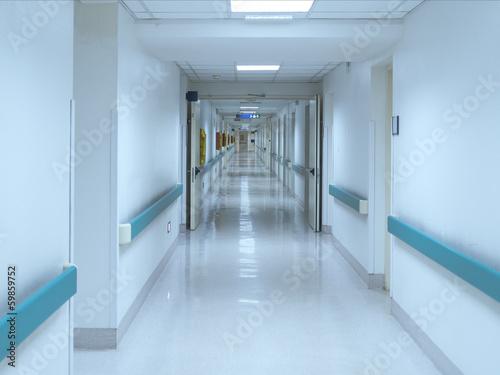 Fotografie, Tablou  hospital corridor