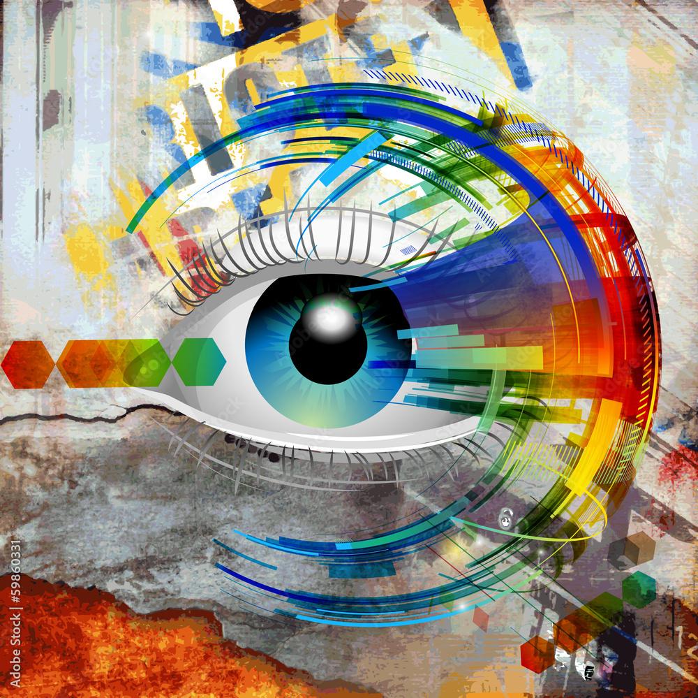 Fototapeta зрение