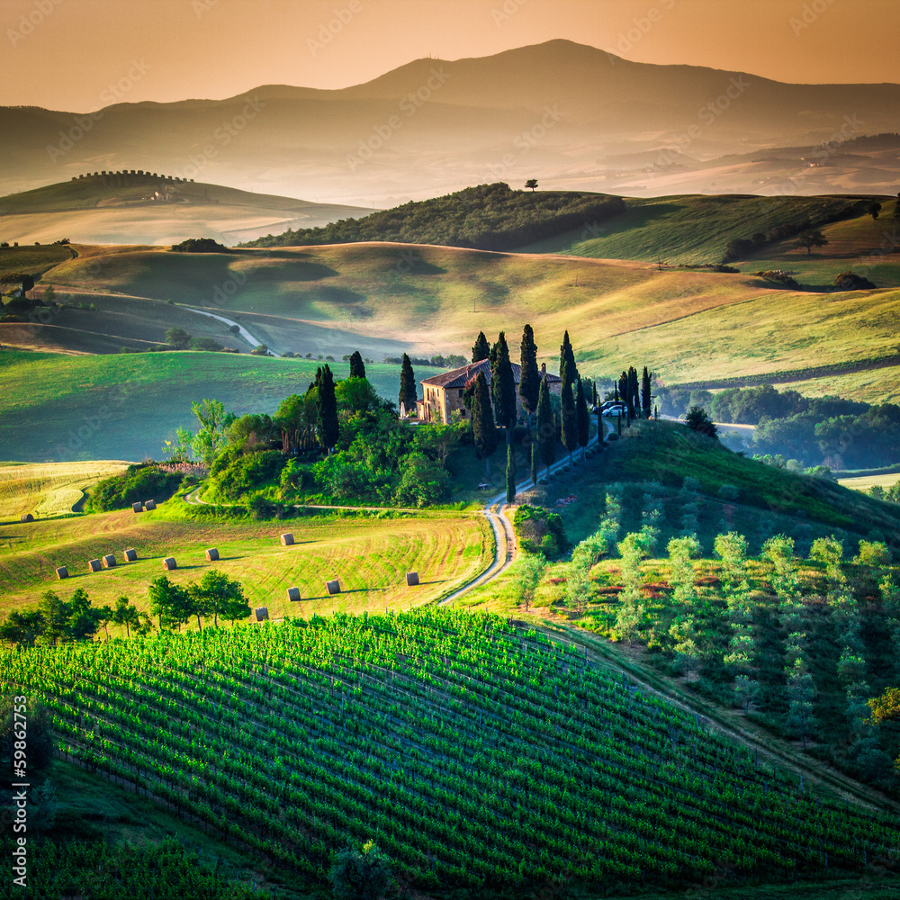 Fototapeta Tuscan country
