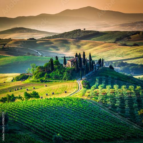 Fototapeta Pejzaż Toskanii obraz