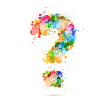 Abstract Vector Question Mark ...