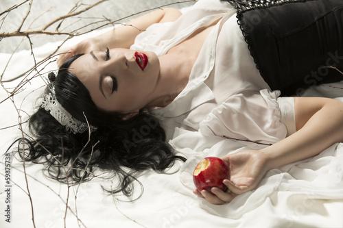 Fotografie, Obraz  Snow-white