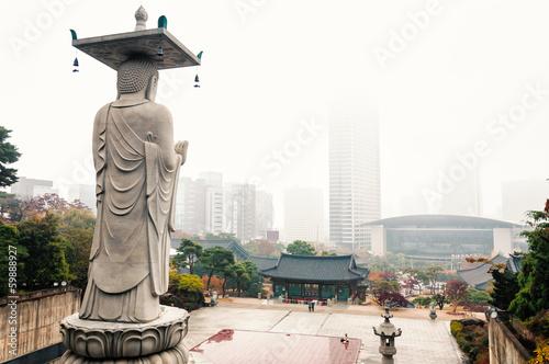 Foto op Canvas Seoel Bongeunsa Temple