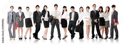 Fotografia  Asian business team