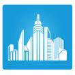 real estate,city scape symbol