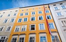 Birthplace Of Wolfgang Amadeus Mozart