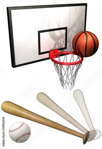 Photo  Ball game set