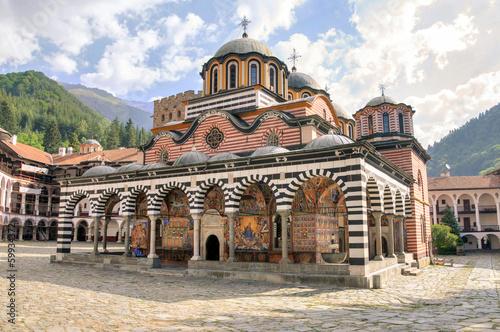 Keuken foto achterwand Oost Europa Rila monastery, Bulgaria