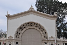 Spreckels Organ Pavillion In Balboa Park, San Diego, California