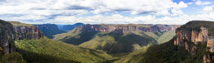 Dolina Grose u Modrim planinama u Australiji