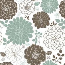 Pattern Floral Seamless