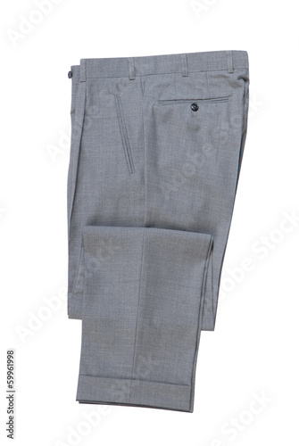 Fotografie, Obraz  male grey classical trousers