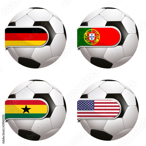 Photo  World Cup football group G