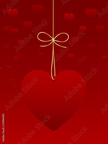 Carte De Saint Valentin Je Taime Amour Déclaration Coeur
