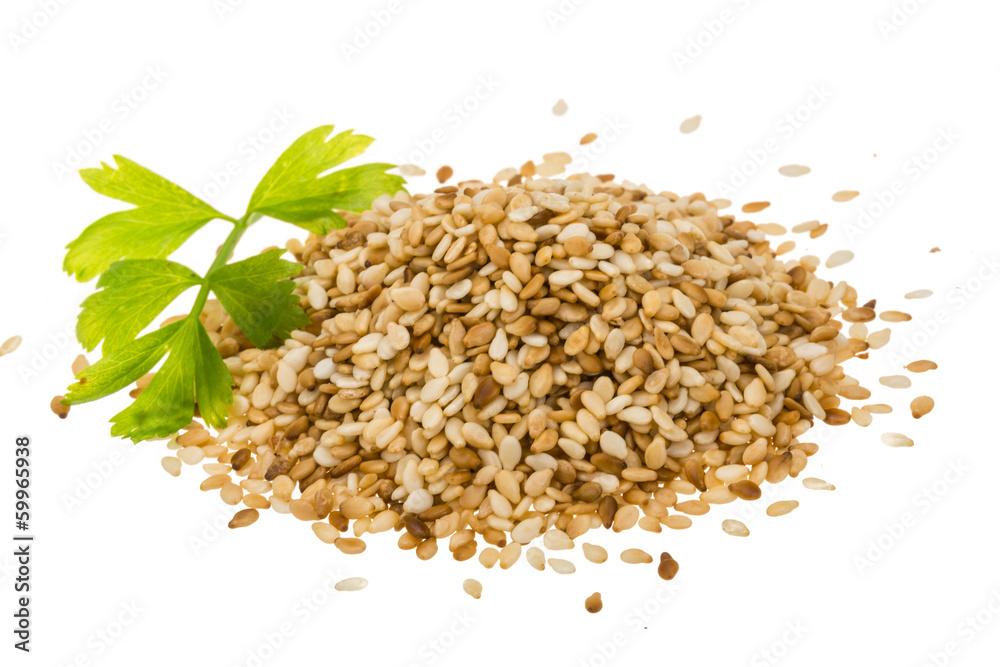 Fototapety, obrazy: Sesam seeds