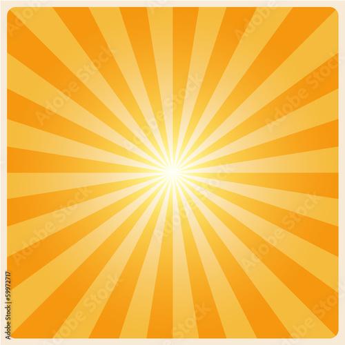 Fotografie, Obraz  white rays background