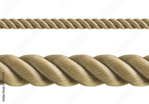 Fotografía  Rope seamless vector