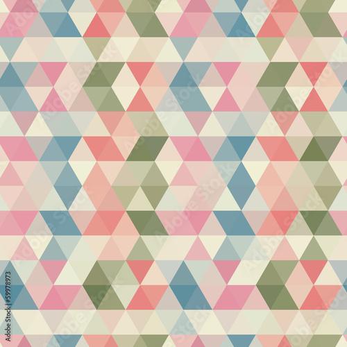 Wzór trójkąta bez szwu. Tło wektor. Geometryczne streszczenie