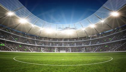 Naklejka Stadion Mittellinie
