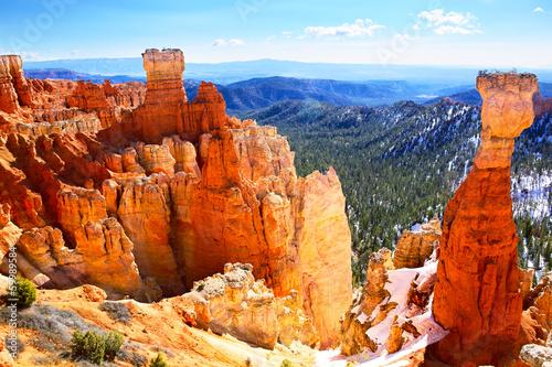 Fotomural Bryce Canyon National Park landscape, Utah, US