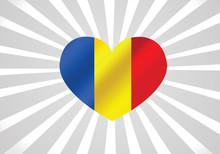 National Flag Of Romania Themes Idea Design