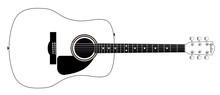 White Guitar