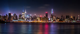 Fototapeta Nowy Jork - Manhattan Panorama during the Pride Weekend