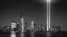 Tribute In Light, On September 11th, In New York City