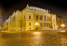 Rudolfinum A Music Auditorium In Prague, Czech Republic