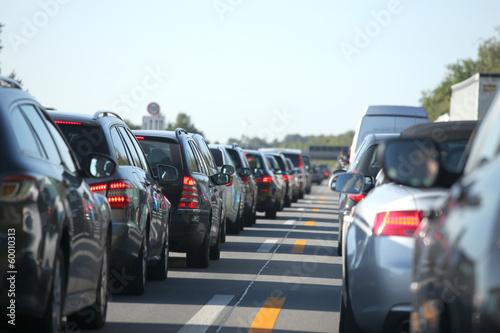 Fototapeta traffic congestion
