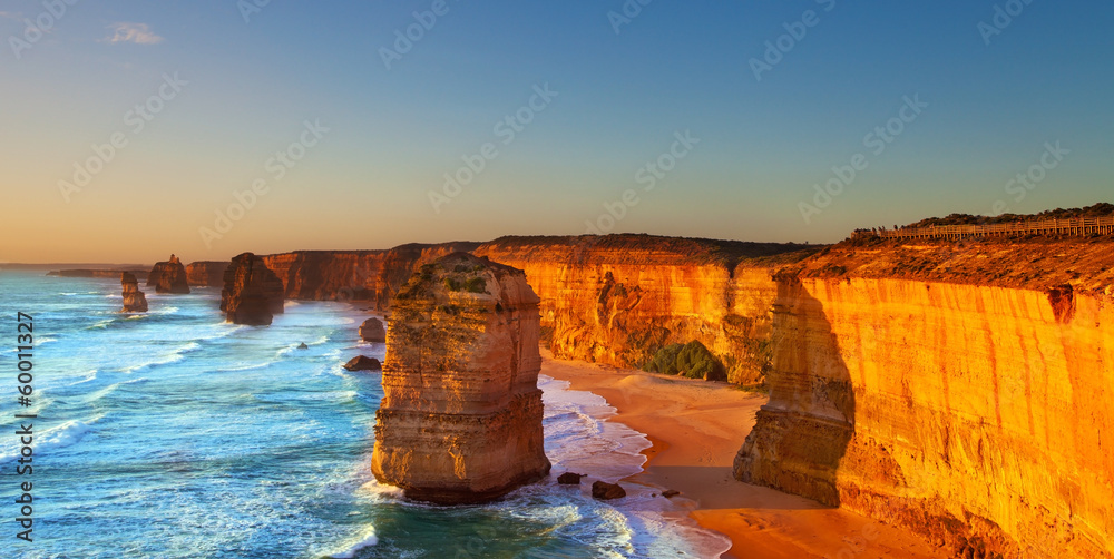 Fototapeta The Twelve Apostles, Great Ocean Road, Australia