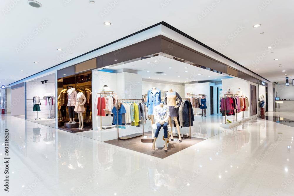 Fototapeta intrior of shopping mall