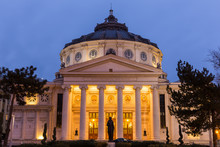 Romanian Athenaeum, Bucharest'...