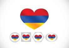 Flag Of Armenia Themes Design Idea
