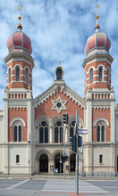 Great Synagogue In Plzen, Czec...
