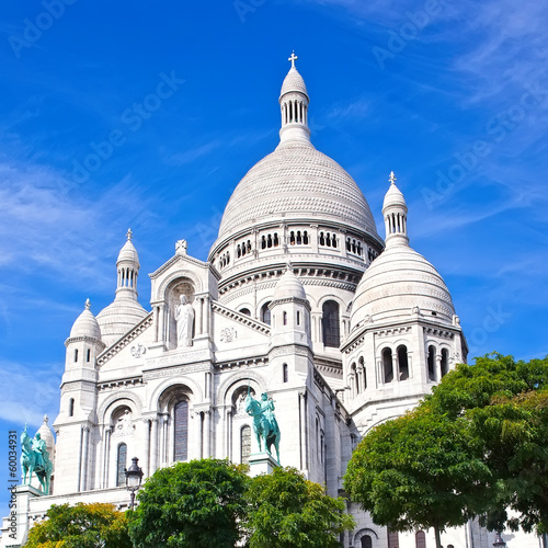 Photo  Sacre Coeur in Paris