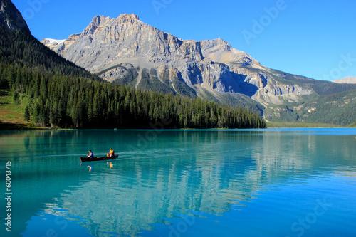 Foto auf Leinwand Kanada Emerald Lake, Yoho National Park, British Columbia, Canada
