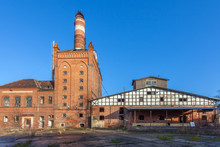 The Buildings Of The Old Factory
