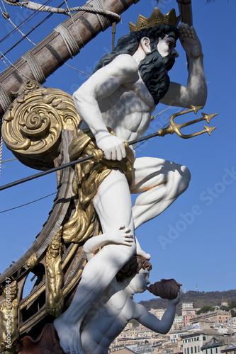 figurehead of the Galleon Fototapet
