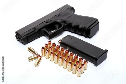 Carta da parati Gun and ammo