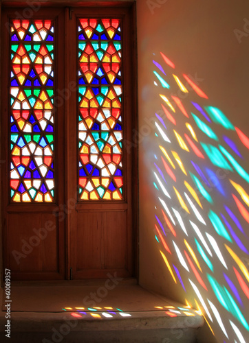 Photo  Stained-glass window