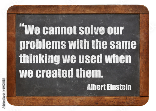 problem solving concept Poster