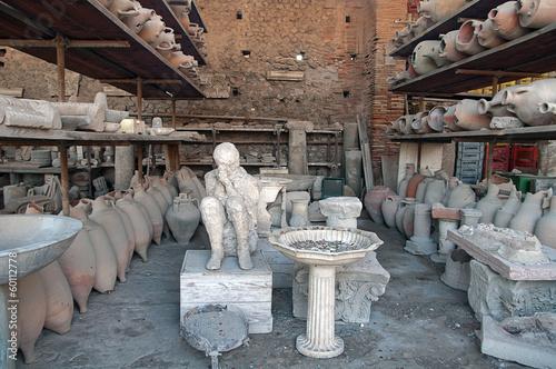 Fotografia Scavi e rovine di Pompei - Napoli